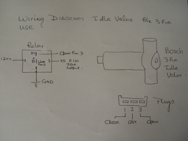 Idle Air Control Valve Wiring Diagram on porsche 944 wiring diagram
